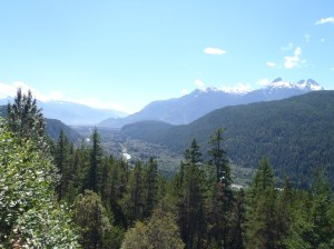 View of the Squamish Valley