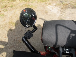 The garmin mount