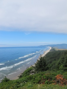 The view point enroute to Cape Lookout.