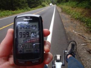Nearing 1000km