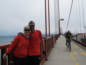 Bremma on the Golden Gate Bridge