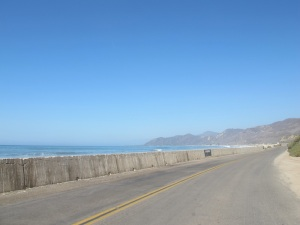 Pacific Coast Hwy, busy and  hot