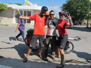 Bune, our very cool host in Mazatlan. Come riding with us Bune-chan!