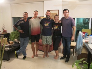 in Tepic with Pablo, Bryce, Bremma & Professor Pepe