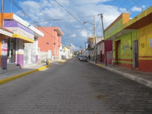 The colourful streets of Magdalena