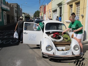 One of the Casa projects, symbolising a greener way to use your car