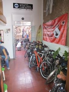 The casa full of bikes!