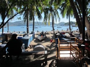 The marina in Ziuatanejo