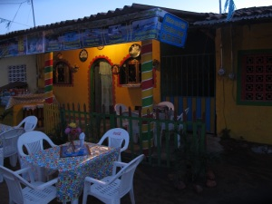 The village at Barra De Potosi