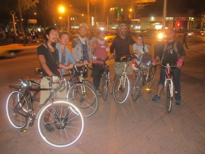 The Casa night riders!