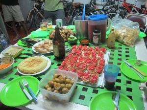 The Christmas feast!