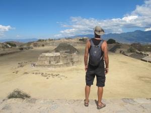 Monte de Alban in Oaxaca
