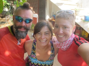 Our wonderful host in Puerto Escondido, Christina