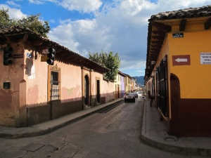 The colourful streets of San Cristobal