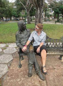 John Lennon Park in Havana