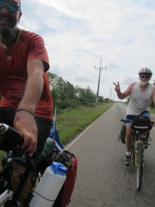 This is Mark from Quebec, Canada. His 7th trip riding Cuba....and he can't speak any Spanish!