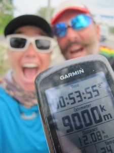 We rode our 9000th km in Cuba!