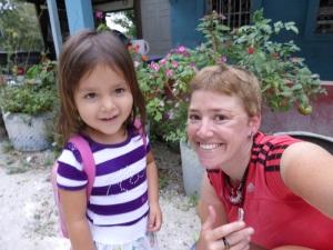 Our Spanish teacher & new mate, Lupita