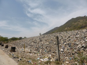 2 mountains, one just rubbish. How can we solve this?