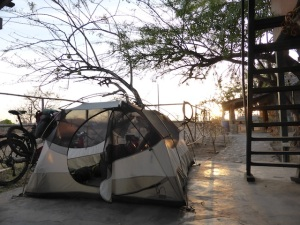 Our tent - the Sierra Designs Zia 3