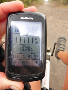 1111km! How auspicious! We expect by 2222km we will be on the east coast of Oz.
