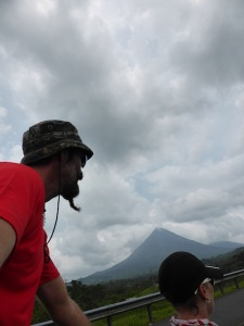 On the road with Volcan Arenal