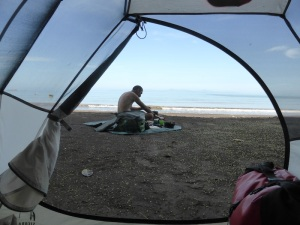 Camping in Tarcoles