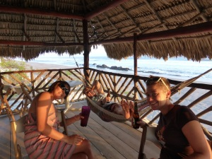 Final sundowners with our mates