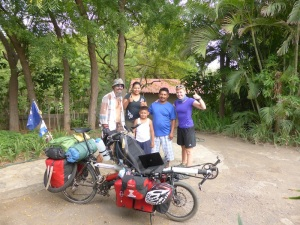 The incredible house keepers at DonCoCo in Pochomil; Marta, Sergio and their son Miguel