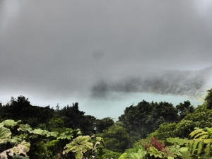 We stayed for over an hour to capture this glimpse of the lagoon in the clouds