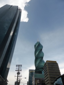 Panama city sky scrapers