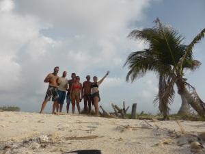 Bren, Dion, Andy, Bec, Captain Andrea & Em