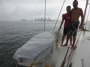 With Falkor at our side, we sail into Cartagena