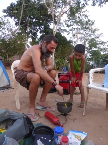 The camping stove is a source of true wonder