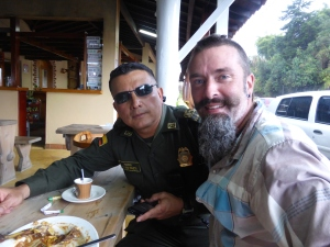 Gracias Sergeant William for a great lunch and for making a hilarious docco on Falkor