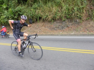 The awesome Sebastian who connected us with his pal Jorge in Pereira. Cyclists rule!
