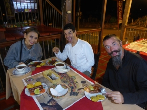 In Santa Rosa, the home of Chorizo with Yasmine & Jorge