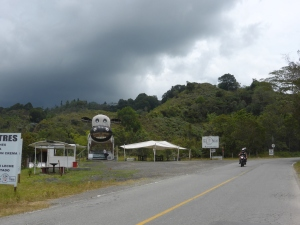 In Australia., we love a 'big roadside attraction'. Dunno if we have a big cow though....