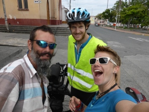 We rode for 2 days from Calarca with Welsh Nick