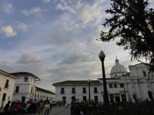 The gorgeous city of Popayan
