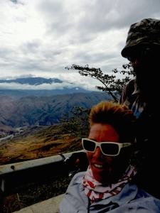 Bremma ride Colombia mtns