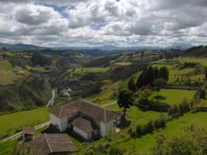 The stunning scenery of Ipiales