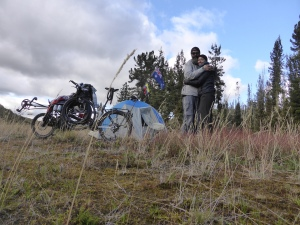 Our silent campsite in the paramo