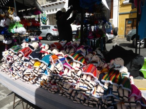 The market in Otavalo - Ecuador. Incredible in every way