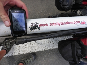 15,000 TotallTandem km! Check those zeros man!