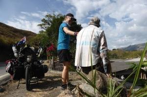Roadside break Colombia