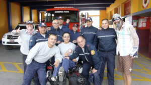 The excellent bomberos of Pasto