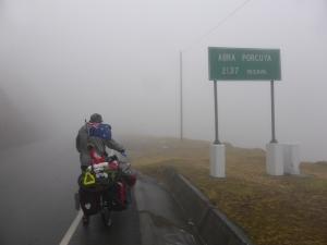 The mist creeps