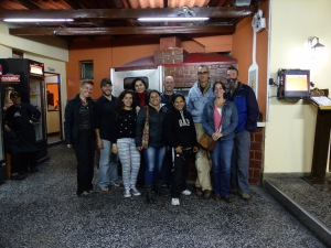 Our 2nd night in Cajamarca, the staff took us out for a fantastic dinner