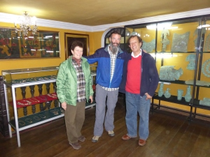 Meeting Maureen and her husband Nick in Cajamarca, they took us on a tour of the private home museum. Incredible